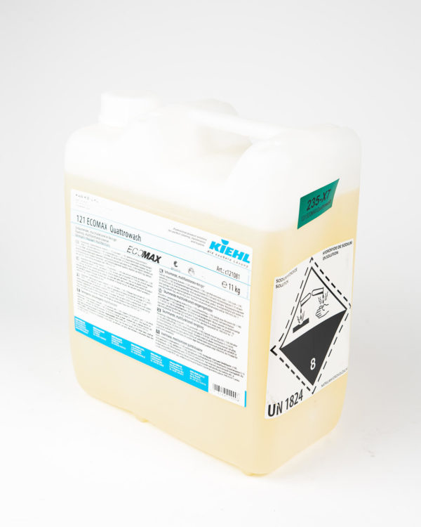 121 ECOMAX Quattrowash puhdistusaine kanisteri