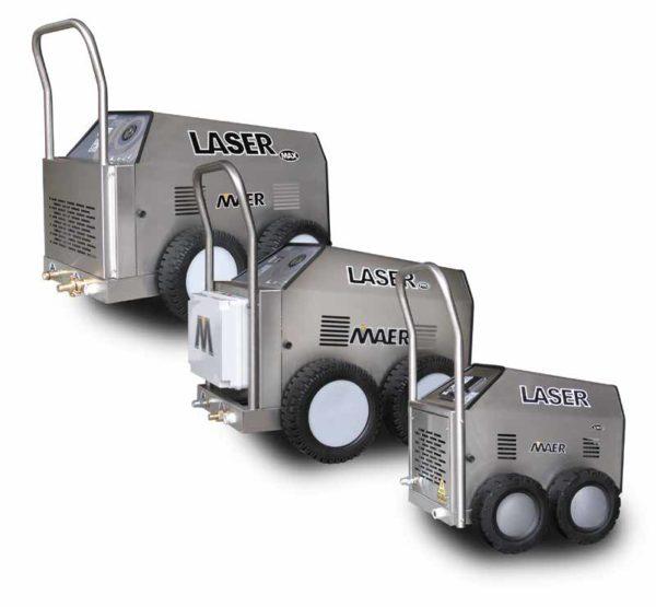 MAER laser pro ja max painepesurit