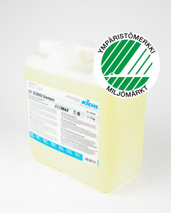 107 ECOMAX Shampoo puhdistusaine kanisteri