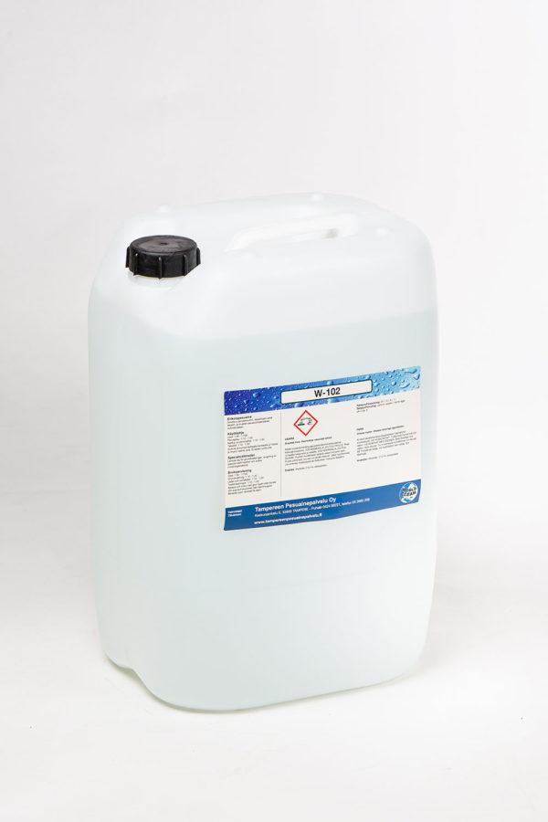 W-102 puhdistusaine kanisteri