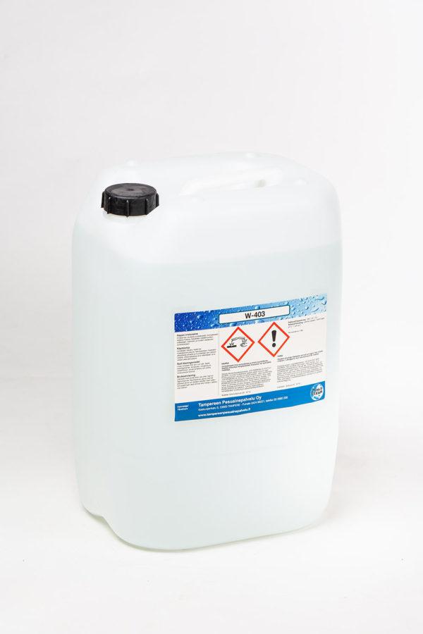 W-403 puhdistusneste kanisteri