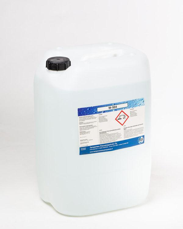 W-504 puhdistusneste kanisteri