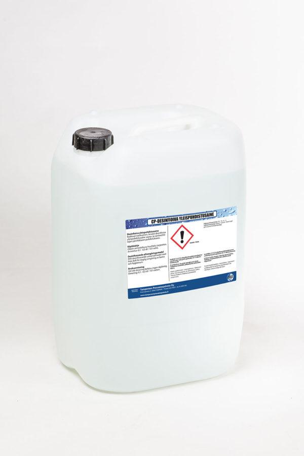 CP desinfioiva yleispuhdistusaine kanisteri